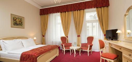 Wohnbeispiel in der Superior-Kategorie des Hotels Palace Zvon