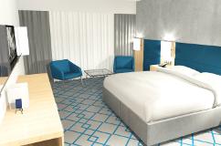 Zimmer im Hotel Hamilton