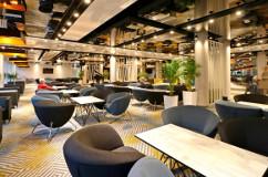 Das Hotel Hamilton verfügt über großzügige Restaurant-Räume.