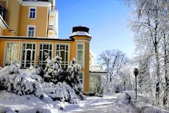Teilansicht Royal im Winter