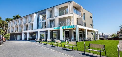 Weiterklicken zum Wydma-Resort in Treptower Deep (Mrzezyno)