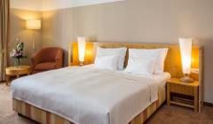 Dobbelbett im Falkensteiner-Hotel