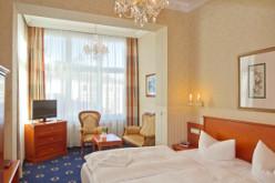 Doppelzimmer-Wohnbeispiel im Herinsdorfer Romantikhotel Esplanade