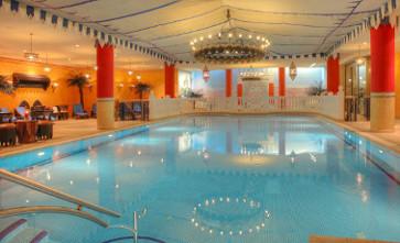 Schwimmbad im Wellnesscenter Shehrezadeezade