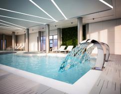 Schwimmbad im Kurhotel Henryk