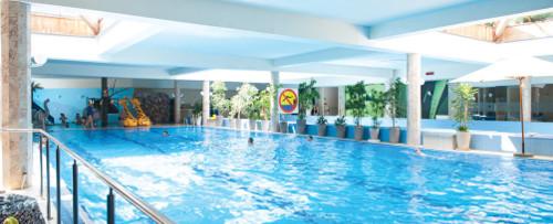 Schwimmbecken im Hotel Sandra Spa Karpacz