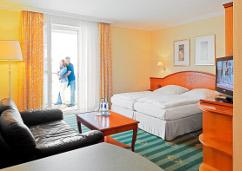 Wohnbeispiel im Hotel Strandblick