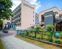 Kurhaus Sobótka in Swinemünde