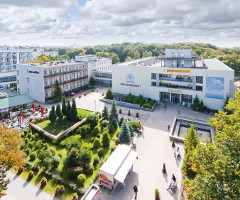 Sanatorium Muszelka (links das angebundene Haus B)