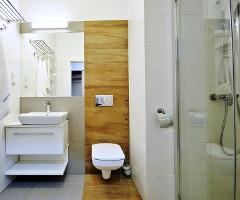 Bad-WC-Raum (Beispiel) im Sanatorium Muszelka
