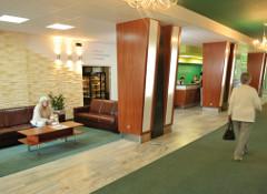 Lobby und Rezeption im Haus Perla Baltyku
