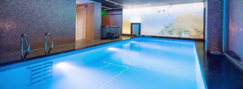 Schwimmbad im Wydma-Resort