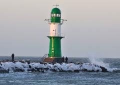 Leuchtturm in Rostock-Warnemünde
