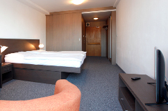 Doppelzimmerbeispiel im Hotel Maj
