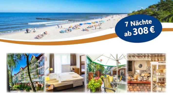 Sommer 2020 an der polnischen Ostsee: Maximus Spa in Dzwinówek
