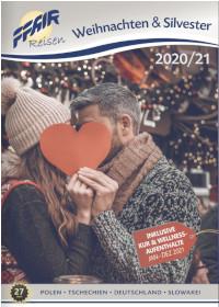 Katalog Weihnachts- und Silvesterreisen für 2020/21